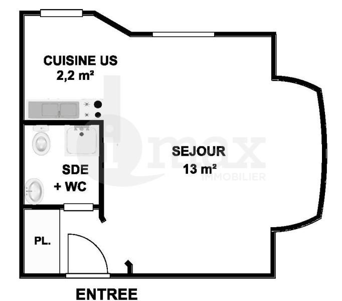 Sale apartment Courbevoie 169000€ - Picture 2