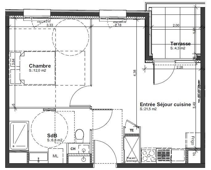 Sale apartment St priest 133264€ - Picture 3