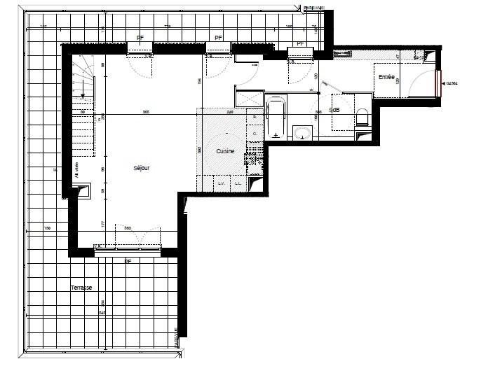 Sale apartment Meyzieu 342300€ - Picture 3