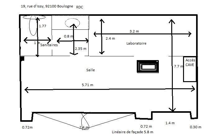Vente boutique Boulogne billancourt 350000€ - Photo 3