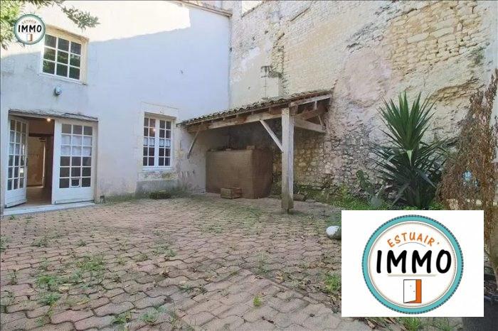 Vente maison / villa Mortagne-sur-gironde 94180€ - Photo 1
