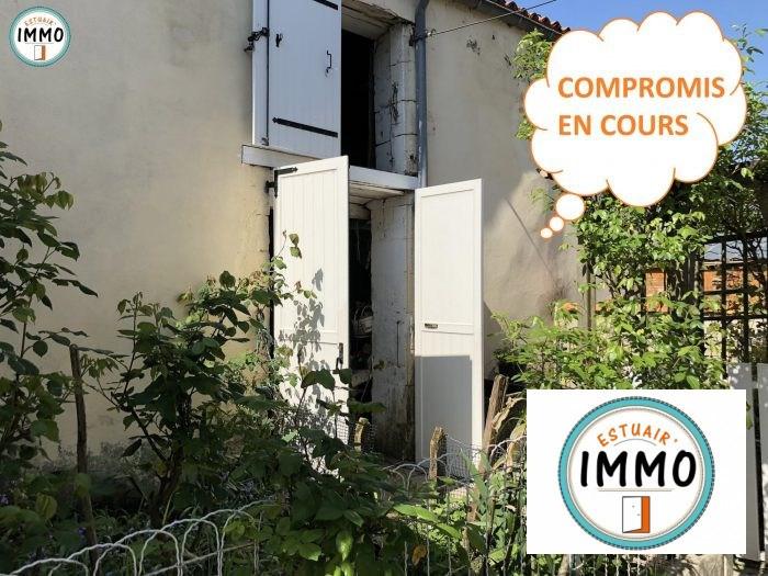 Vente maison / villa Mortagne-sur-gironde 65500€ - Photo 1