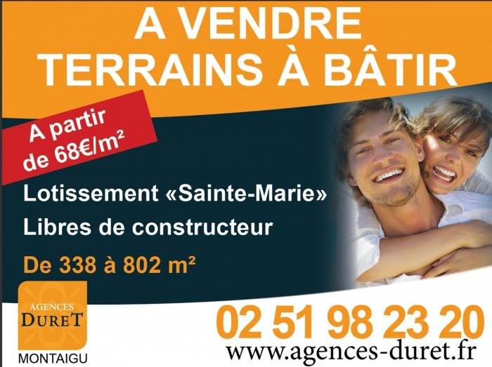 Sale site Corcoué-sur-logne 38800€ - Picture 1