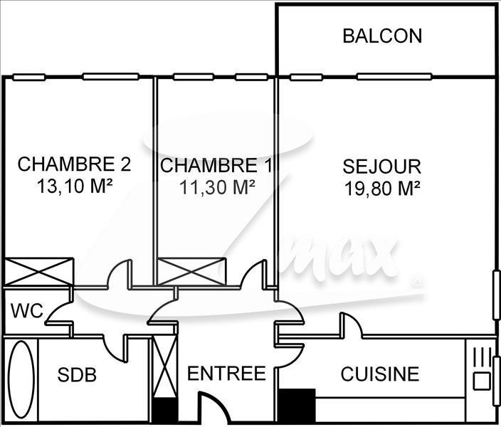 Vente appartement Courbevoie 445000€ - Photo 6