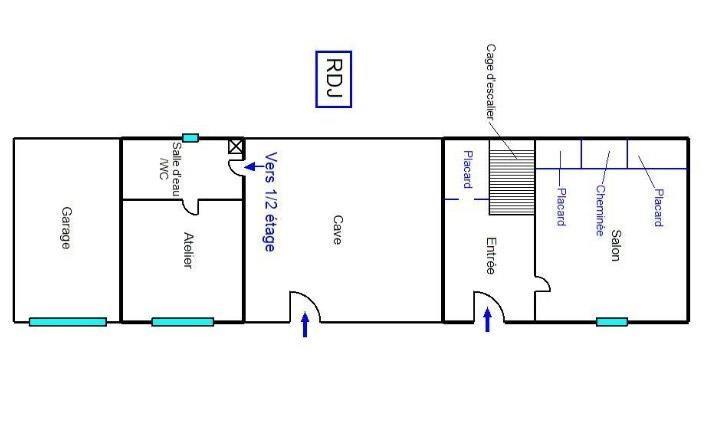 Vendita casa Fayence 335000€ - Fotografia 14