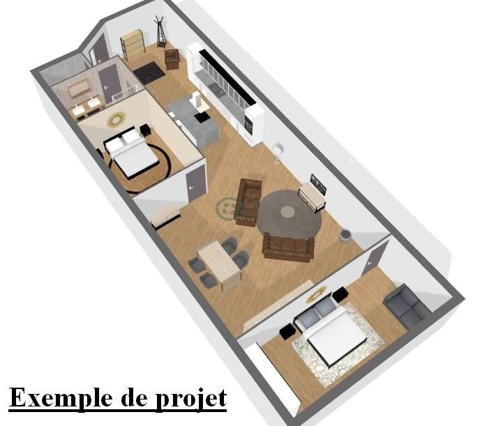 Sale loft/workshop/open plan Villers cotterets 46000€ - Picture 1