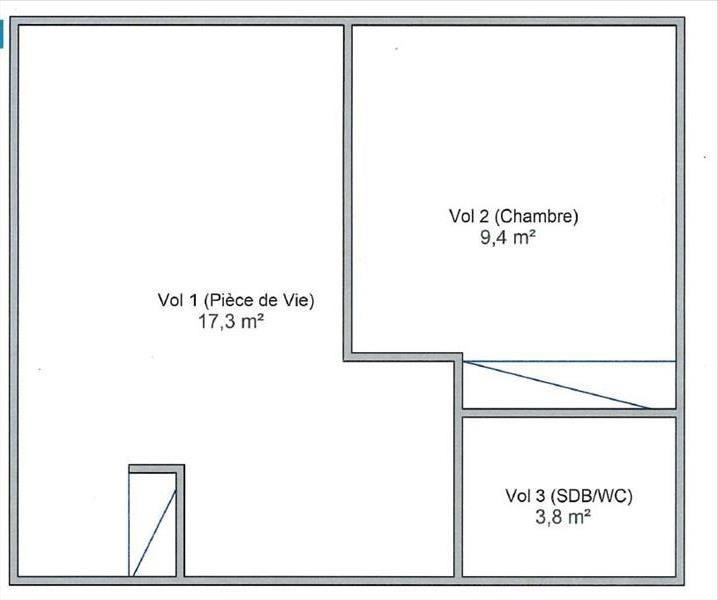 Location appartement La rochelle 474€ CC - Photo 1