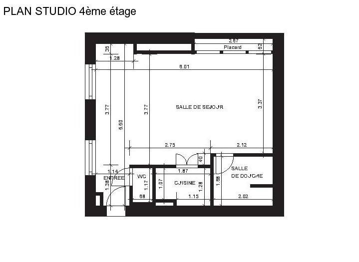 Vente de prestige appartement Paris 4ème 460000€ - Photo 5
