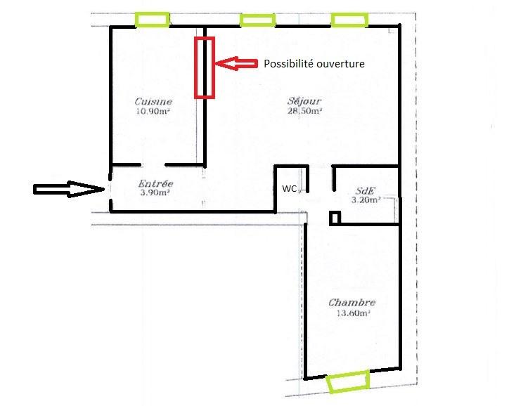 Vente appartement Paris 11ème 622000€ - Photo 5