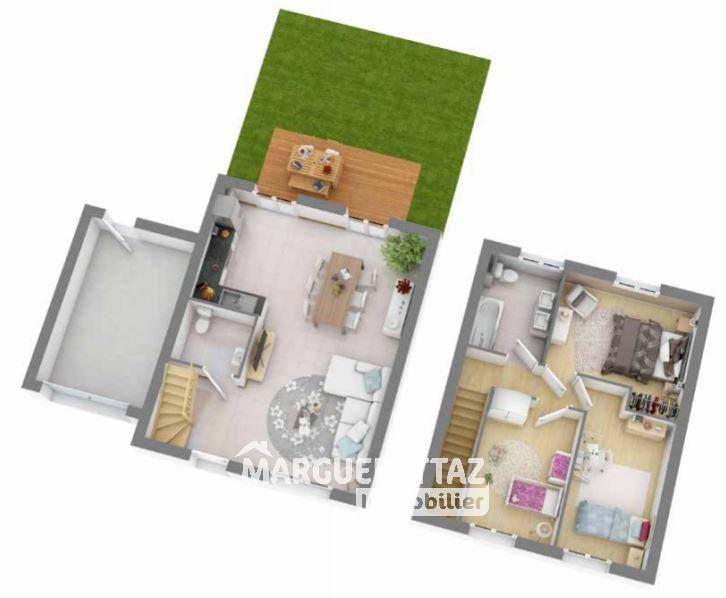 Vente maison / villa Viuz-en-sallaz 287500€ - Photo 6