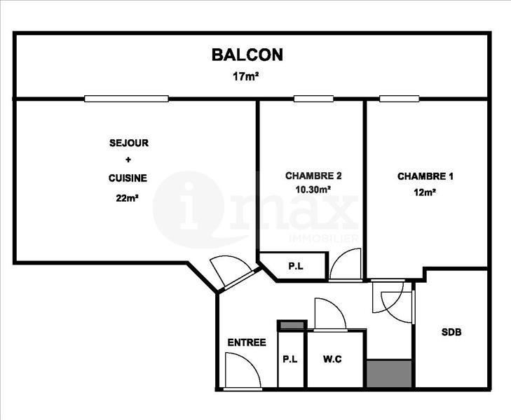 Sale apartment Levallois perret 375000€ - Picture 1