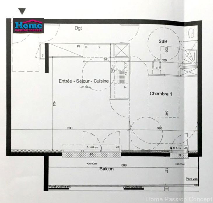 Vente appartement Nanterre 260000€ - Photo 6