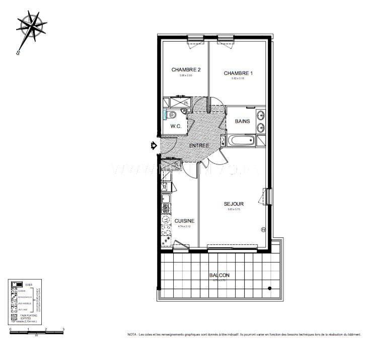 Vente appartement Roquebrune-cap-martin 468000€ - Photo 3