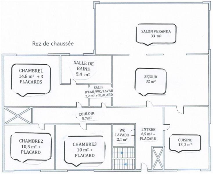 Vendita casa St remy les chevreuse 616000€ - Fotografia 4