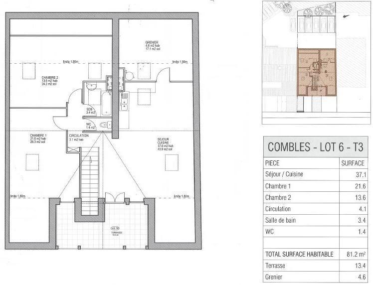 Vente de prestige appartement Ste genevieve des bois 365400€ - Photo 1