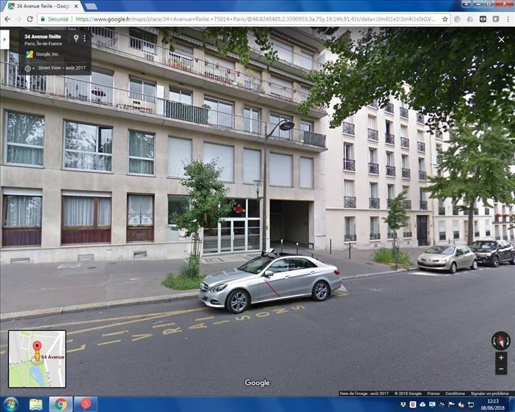 Rental parking spaces Paris 14ème 125€ CC - Picture 1