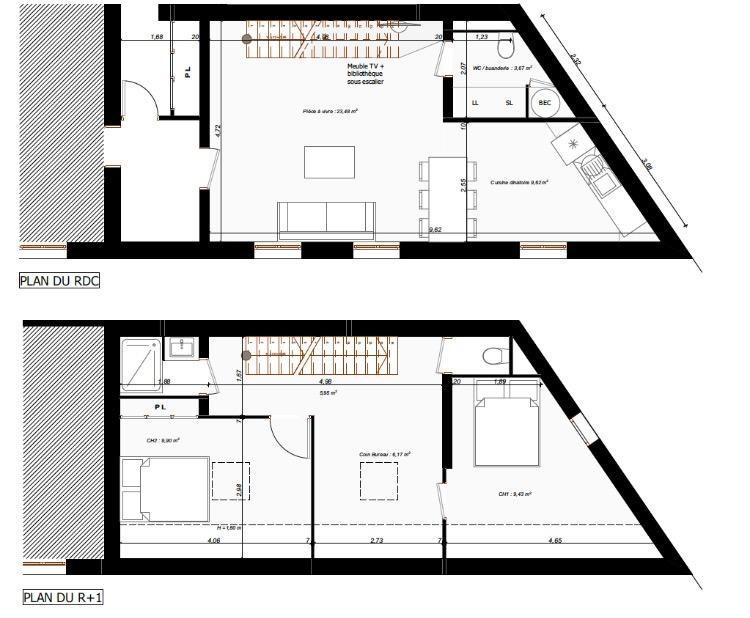 Sale apartment Toulouse 159000€ - Picture 2