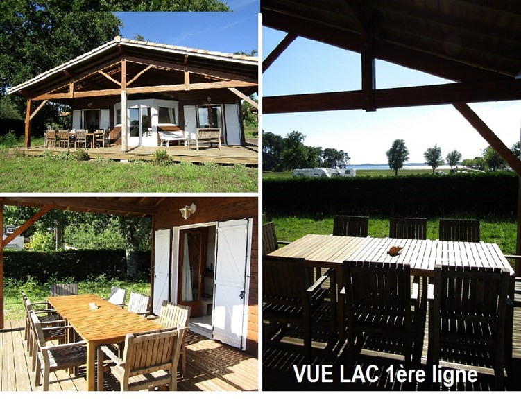 Location vacances maison / villa Lacanau 425€ - Photo 1