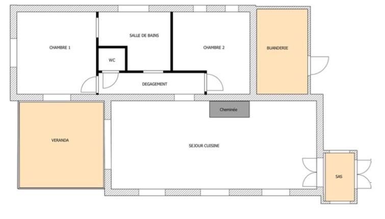 Revenda casa Le canton de fayence 325000€ - Fotografia 14