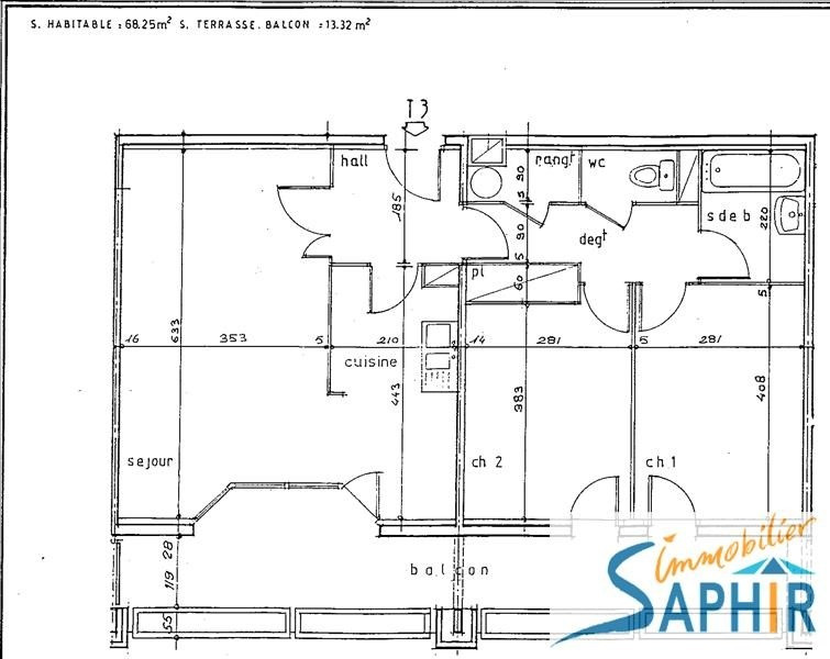 Sale apartment Toulouse 168000€ - Picture 3