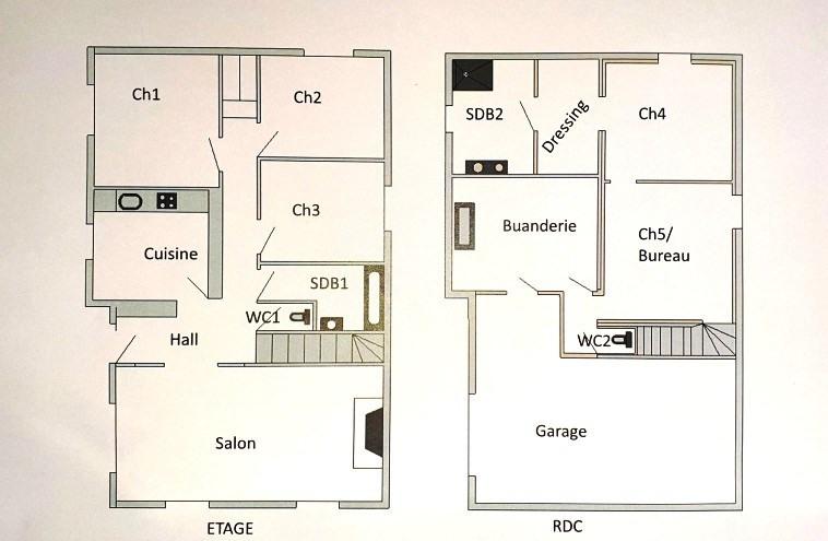 Rental house / villa Marcy l etoile 1800€ CC - Picture 2