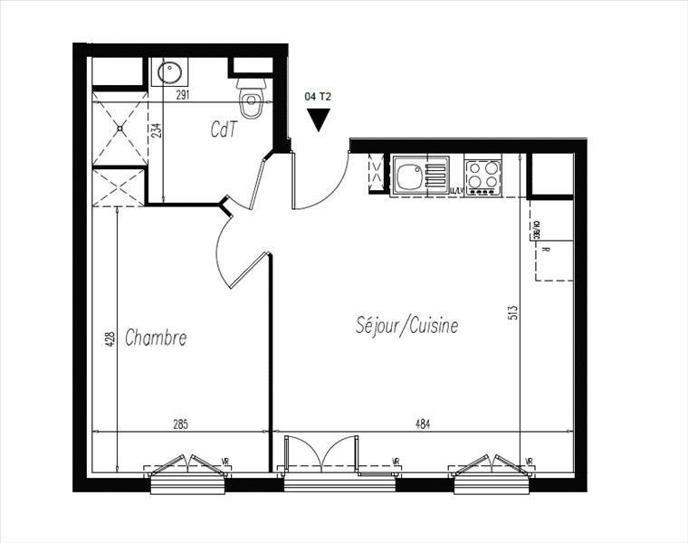 Продажa квартирa L isle adam 179500€ - Фото 2