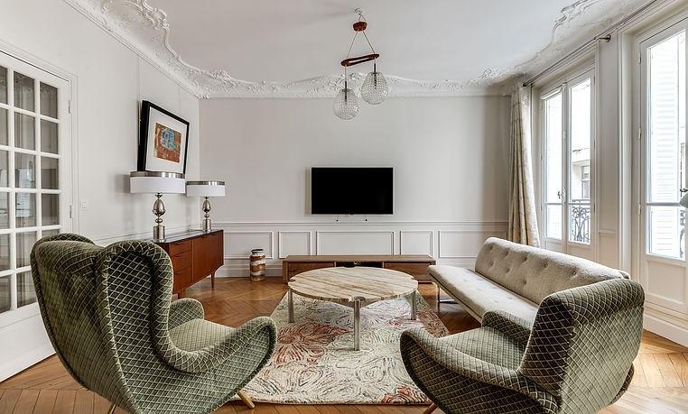 Alquiler  apartamento Paris 17ème 4420€ CC - Fotografía 4