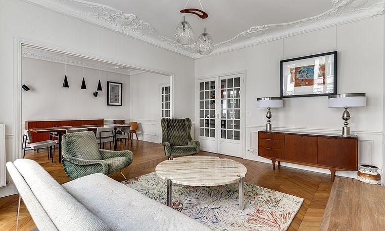 Alquiler  apartamento Paris 17ème 4420€ CC - Fotografía 3