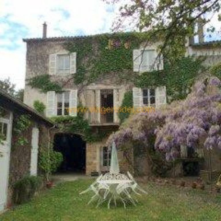 Vendita nell' vitalizio di vita casa Saint-georges-de-reneins 309000€ - Fotografia 1