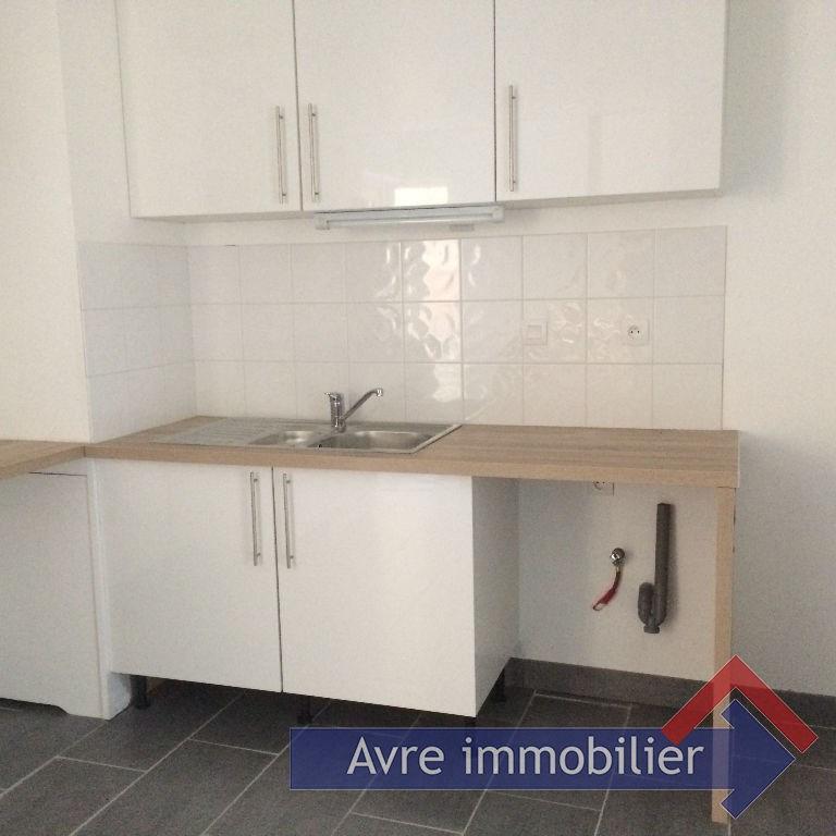 Rental house / villa Verneuil sur avre 615€ CC - Picture 2
