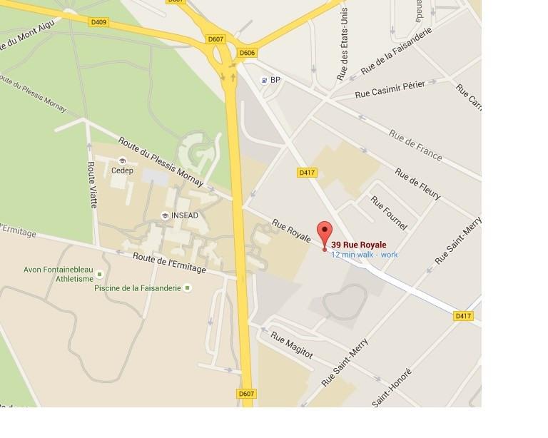 Location appartement Fontainebleau 987€ CC - Photo 24