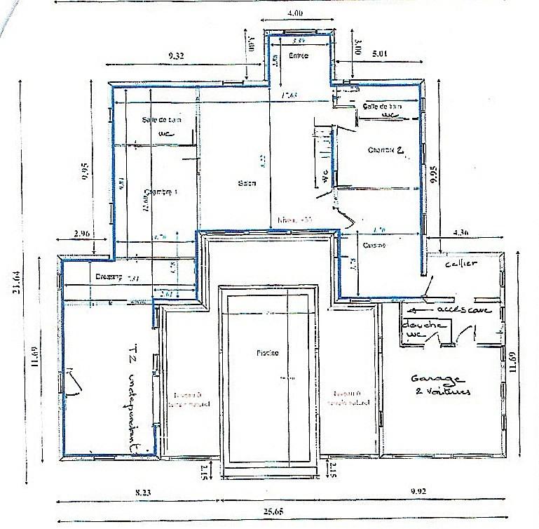 Venta de prestigio  casa Fayence 535000€ - Fotografía 16
