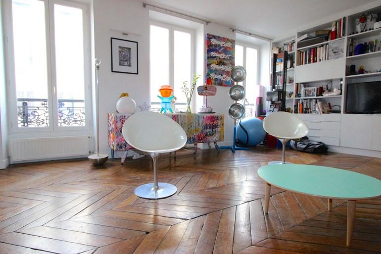 Vente appartement Paris 2ème 775000€ - Photo 9