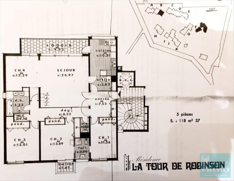 Vente appartement Le plessis robinson 585000€ - Photo 10