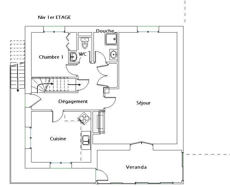 Vente maison / villa Le pont-de-claix 360000€ - Photo 13