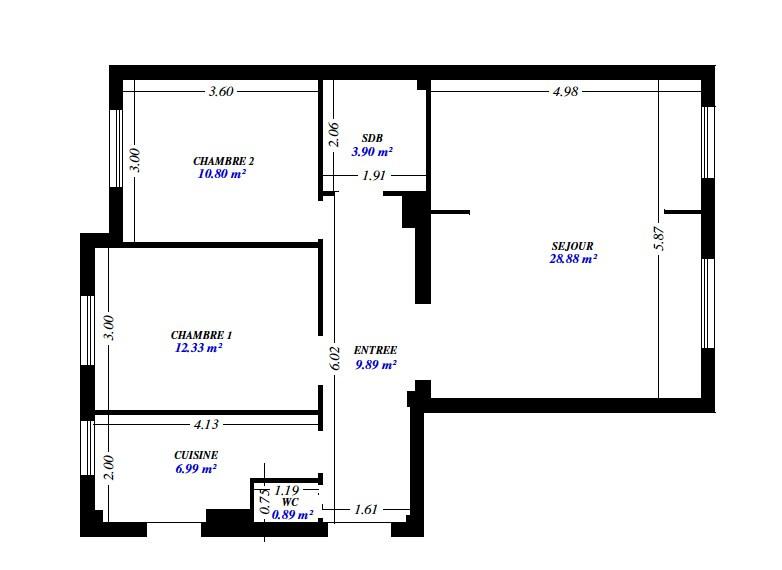 Location appartement Asnières-sur-seine 1595€ CC - Photo 1