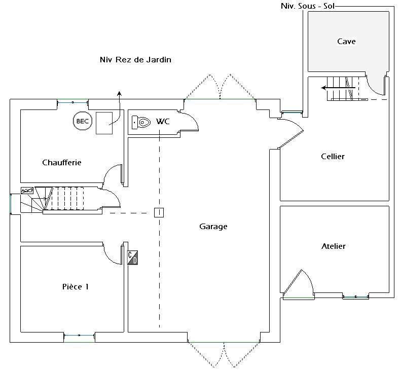 Vente maison / villa Le pont-de-claix 360000€ - Photo 15