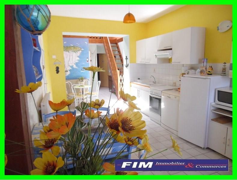 Sale apartment Le treport 104000€ - Picture 1