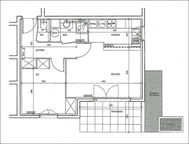 Location appartement Draveil 672€ CC - Photo 3