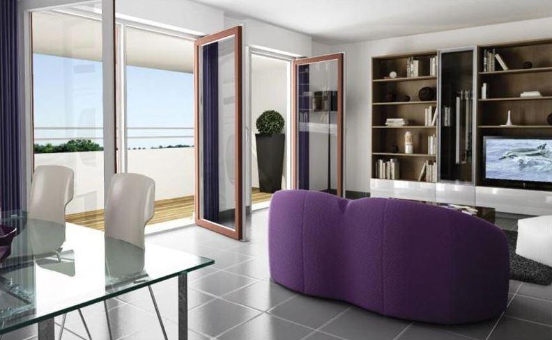 T3 neuf 59 m²