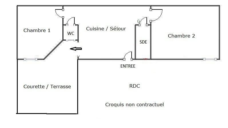 Vente appartement Paris 18ème 375000€ - Photo 11