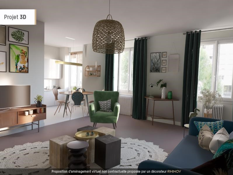 Location appartement Villefranche sur saone 922,50€ CC - Photo 1