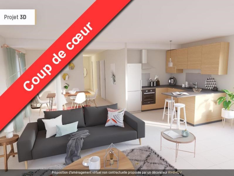 Location appartement St martin d heres 875€ CC - Photo 4