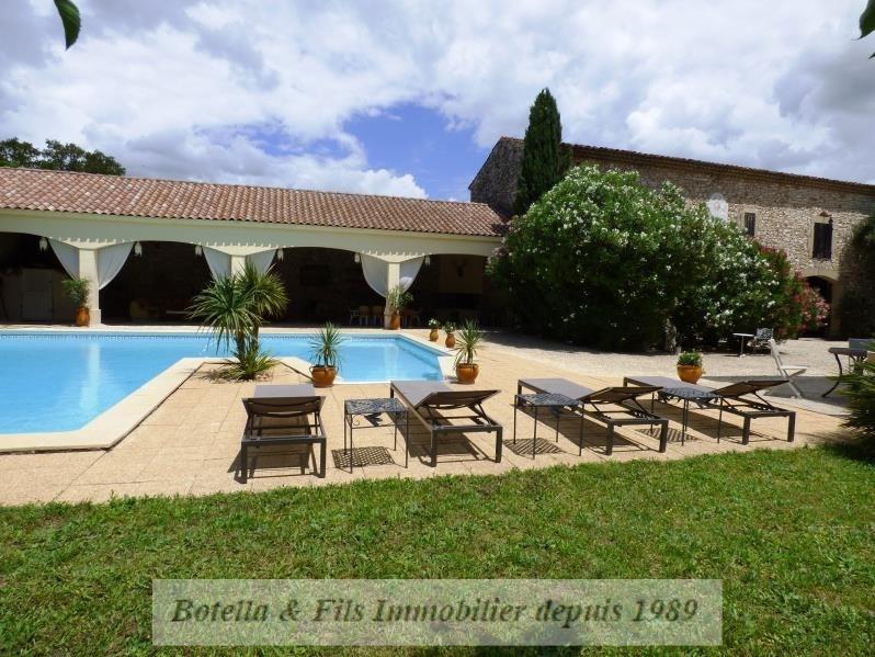 Verkoop van prestige  huis Uzes 789500€ - Foto 1