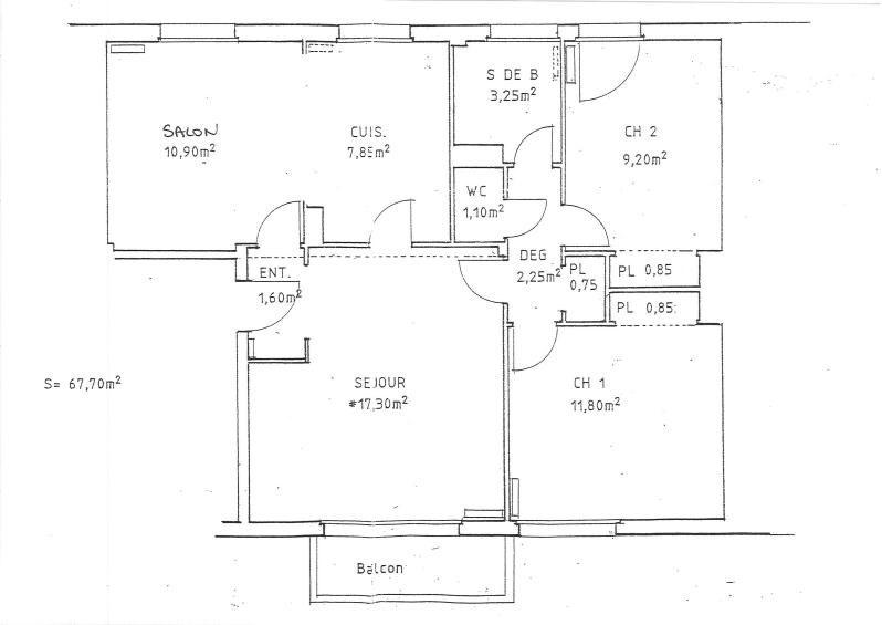 Rental apartment Chatou 1300€ CC - Picture 4