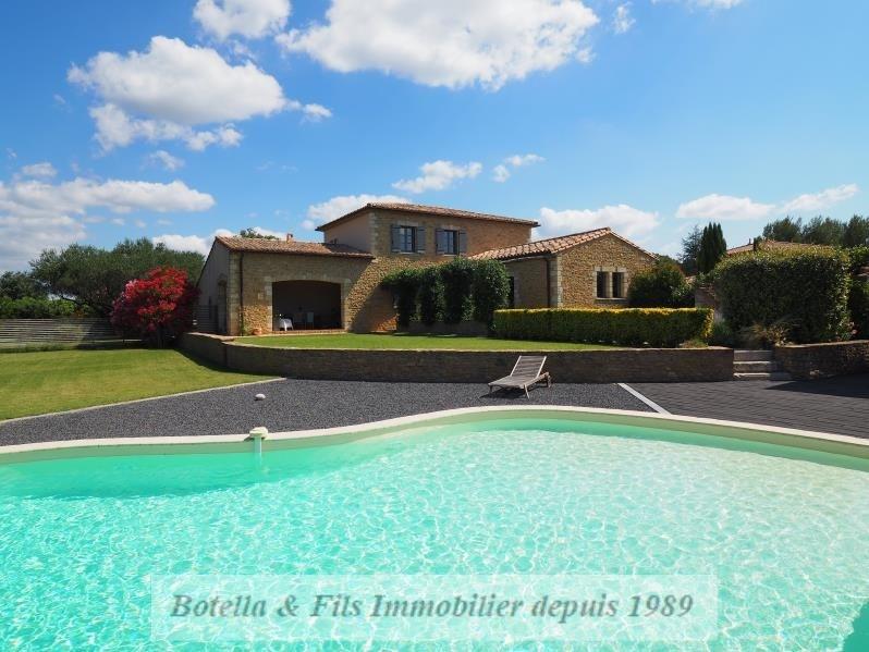 Vente de prestige maison / villa Uzes 890000€ - Photo 1