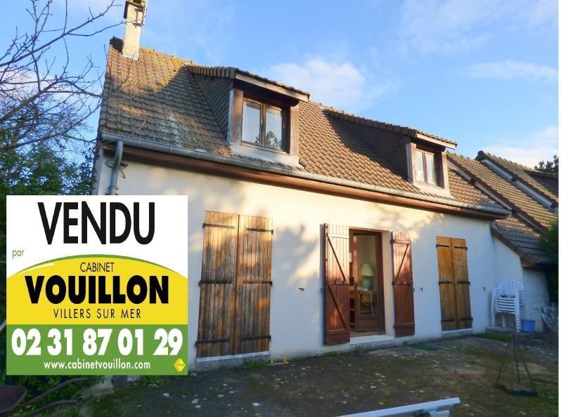 Vendita casa Villers sur mer 343000€ - Fotografia 1