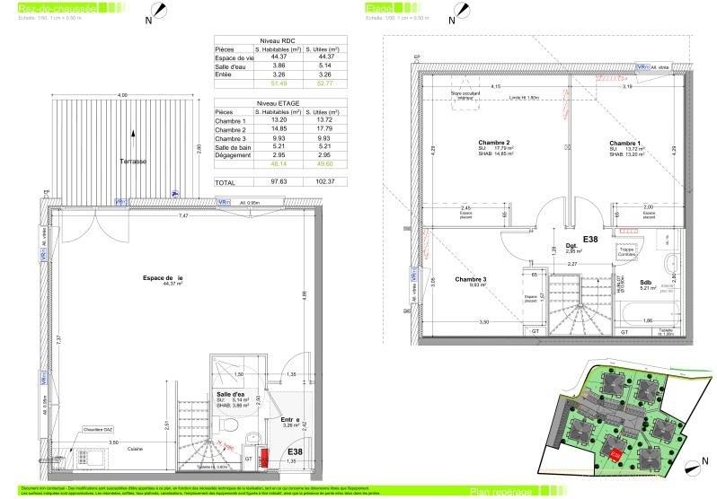 Sale apartment Boege 332000€ - Picture 2