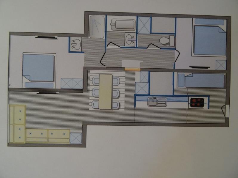 Produit d'investissement appartement Les arcs 320000€ - Photo 8
