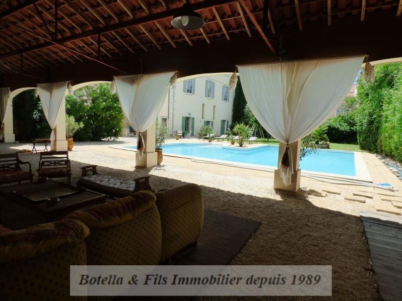 Verkoop van prestige  huis Uzes 789500€ - Foto 14